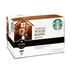 Starbucks Keurig K-Cups - House Blend