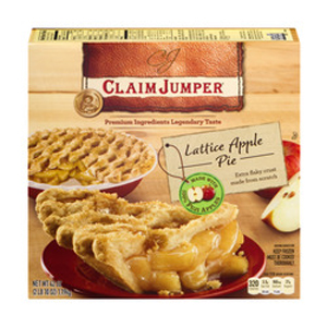 Claim Jumper Lattice Apple Pie