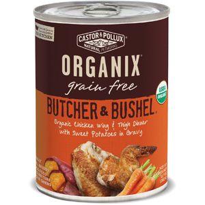 Castor & Pollux Organix Canned Dog Food - Chicken