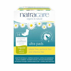Natracare Ultra Pad w/ Wings - Regular
