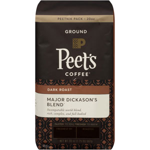 Peets Coffee Ground Major Dickasons Blend