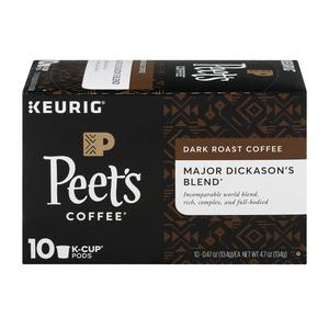 Peets Coffee K Cups Major Dickasons
