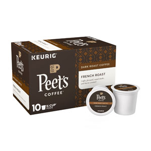 Peets Coffee K Cups French Roast