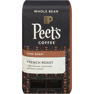 Peets Coffee Whole Bean French Roast