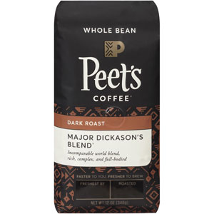 Peets Coffee Whole Bean Major Dickasons