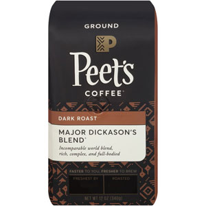 Peets Coffee Major Dickasons Blend