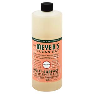 Mrs Meyers Multisurface Concentrate Geranium