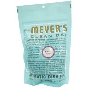 Mrs Meyers Dishwasher Packs - Basil