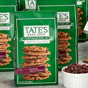 Tates Cookies - Oatmeal Raisin