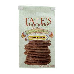 Tates Cookies - Gluten Free Ginger Zinger
