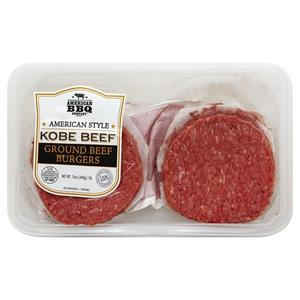 American BBQ Kobe Ground Beef Patties