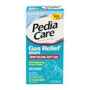 Pediacare Infant Gas Relief Dye Free