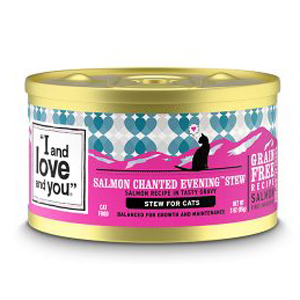 I And Love And You Cat Food Canned - Salmon
