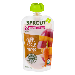 Sprout Organic Carrot Apple Mango