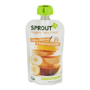 Sprout Organic Apple Banana Squash