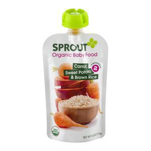Sprout Organic Carrot Sweet Potato Rice