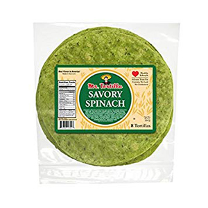 Mr Tortilla - Spinach Tortillas 8 inch
