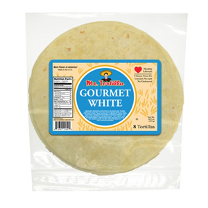 Mr Tortilla - Gourmet White Flour Tortillas 8 inch