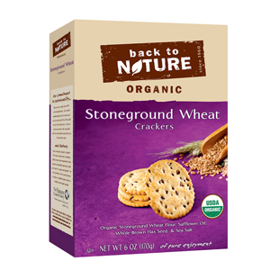 Back to Nature Crackers - Stoneground Wheat