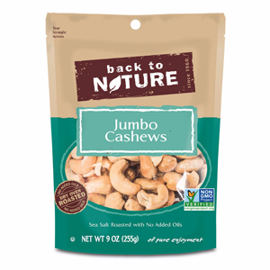 Back to Nature Nuts - Jumbo Cashews