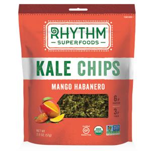 Rhythm Kale Chips - Mango Habanero