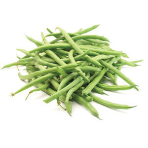 Fresh Organic Trimmed Green Beans