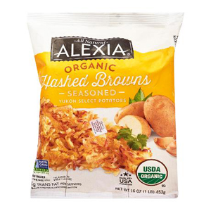 Alexia Organic Seasoned Hashed Browns
