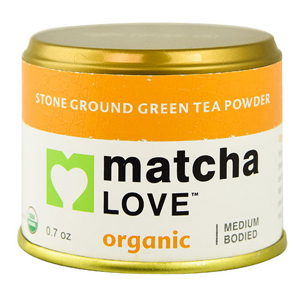 Matcha Love Organic Stone Ground Tea Powder