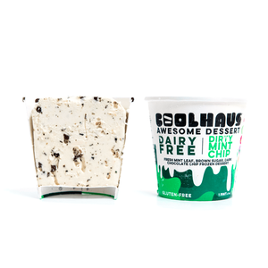 Coolhaus Dairy Free Mini Cups - Dirty Mint Chip