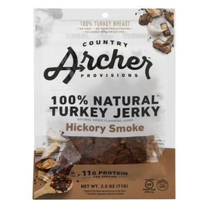 Country Archer Turkey Jerky - Hickory