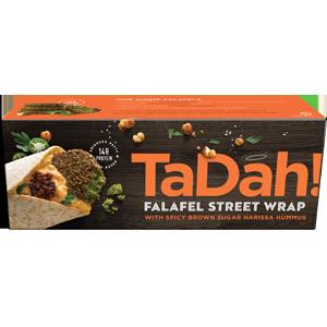TaDah Falafel Wraps - Feta Salsa