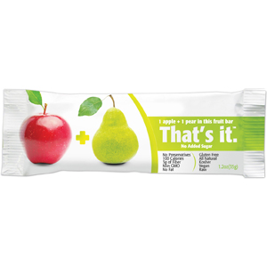 Thats It Fruit Bars - Pear & Apple
