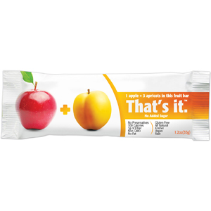 Thats It Fruit Bars - Apricot & Apple