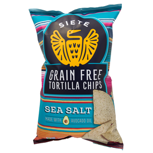 Siete Grain Free Tortilla Chips - Sea Salt