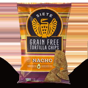 Siete Grain Free Tortilla Chips - Nacho