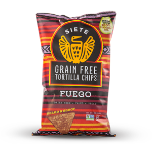Siete Grain Free Tortilla Chips - Fuego