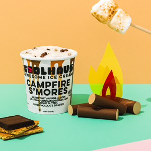 Coolhaus Ice Cream - Campfire Smores