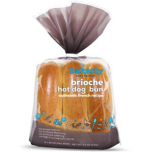 Bakerly Brioche Hot Dog Buns