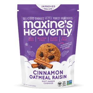 Maxines Heavenly GF Cookies - Oatmeal Raisin