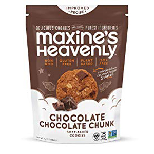 Maxines Heavenly GF Cookies - Chocolate Choc Chunk
