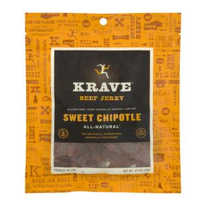 Krave Beef Jerky - Sweet Chipotle
