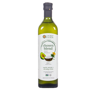Chosen Foods - Safflower/Avocado/Coconut Oil Blend