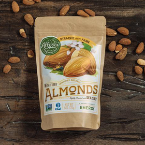 Allgood Provisions - Organic Roasted Salted Almonds