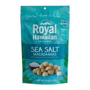 Royal Hawaiian Macadamia Nuts - Sea Salt & Cracked Pepper