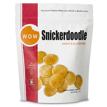 WOW Gluten-free Cookies - Snickerdoodles