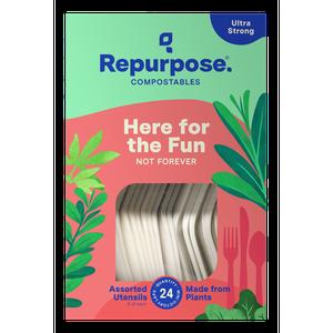 Repurpose Compostable Utensils