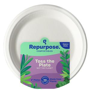 Repurpose Paper Plates - Compostable