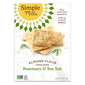 Simple Mills Almond Flour Crackers - Rosemary & Sea Salt