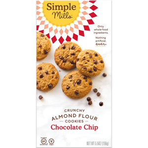 Simple Mills Cookies - Crunchy Chocolate Chip