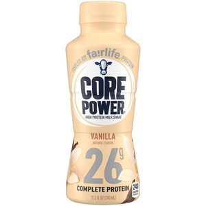 Core Power Vanilla Protein Milk Shake